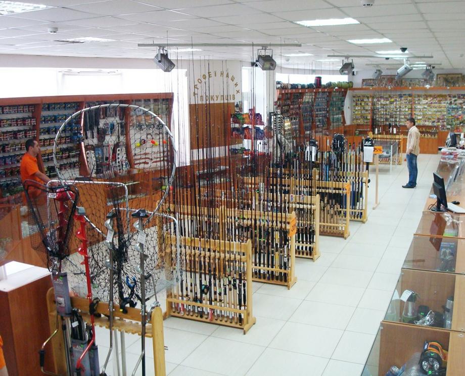 Магазины рыбалки и туризма в Москве